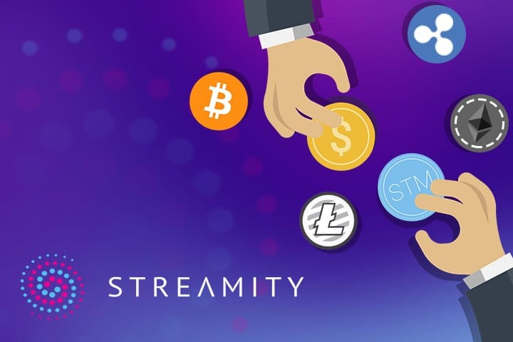 streamity coins exchange