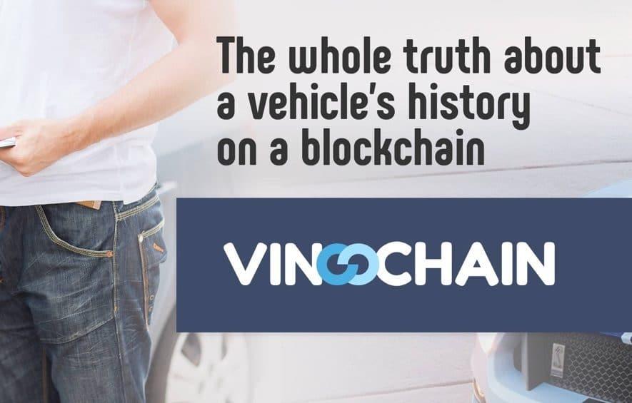 vinchain ico car history blockchain