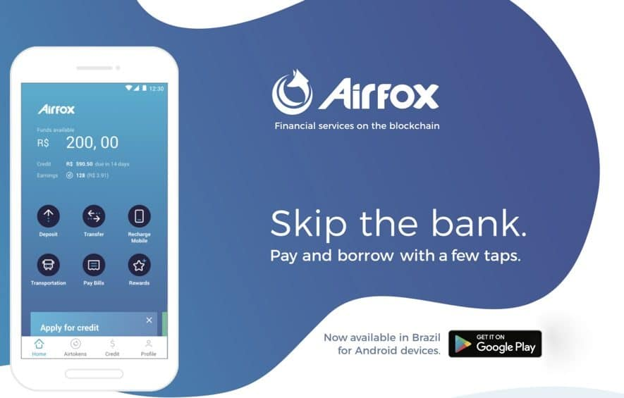 airfox app launch brazil