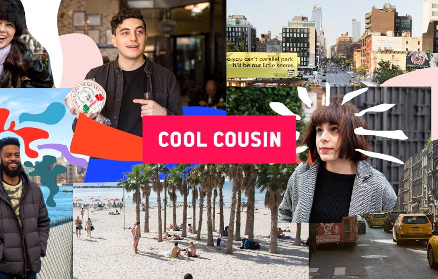 cool cousin city travel blockchain
