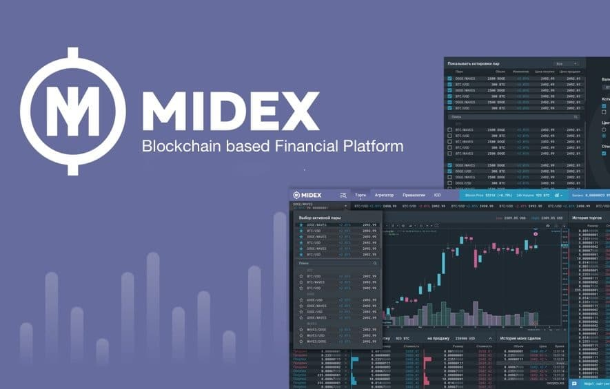 midex ico blockchain financial platform