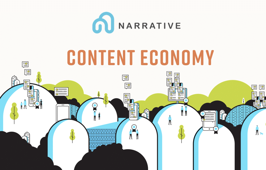 narrative network ico neo content economy