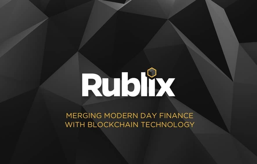 rublix ico finance blockchain tech