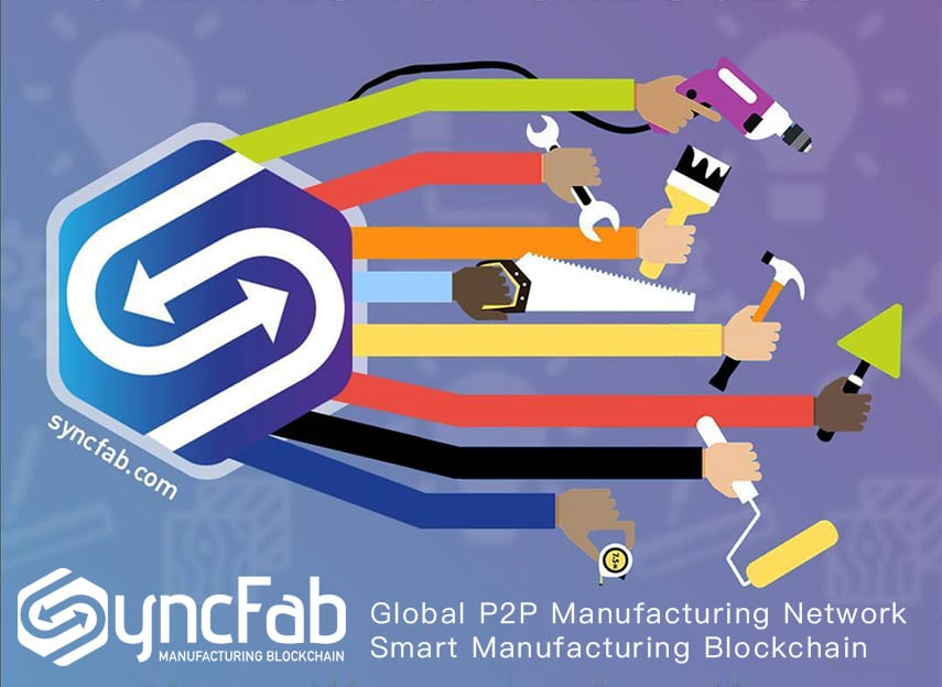 syncfab manufacturing blockchain