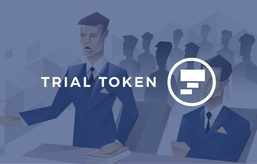 trial token ico law blockchain