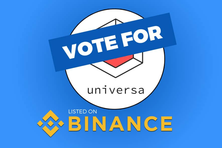 universa binance vote