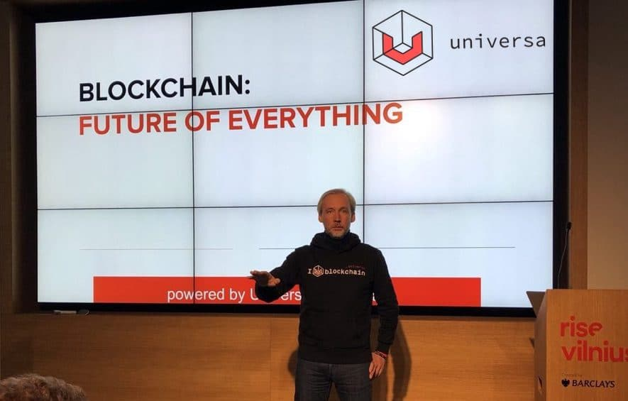 universa business blockchain update