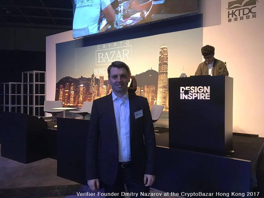 verifier founder at Crypto-bazar hong-kong