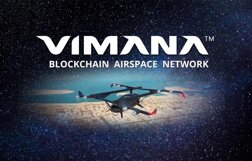 vimana blockchain airspace network