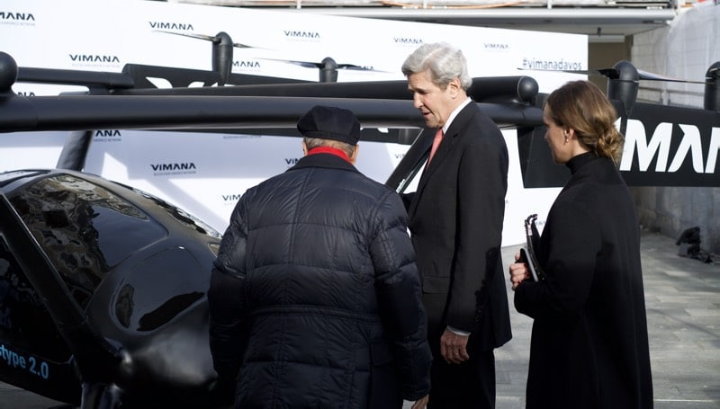 vimana global davos john kerry