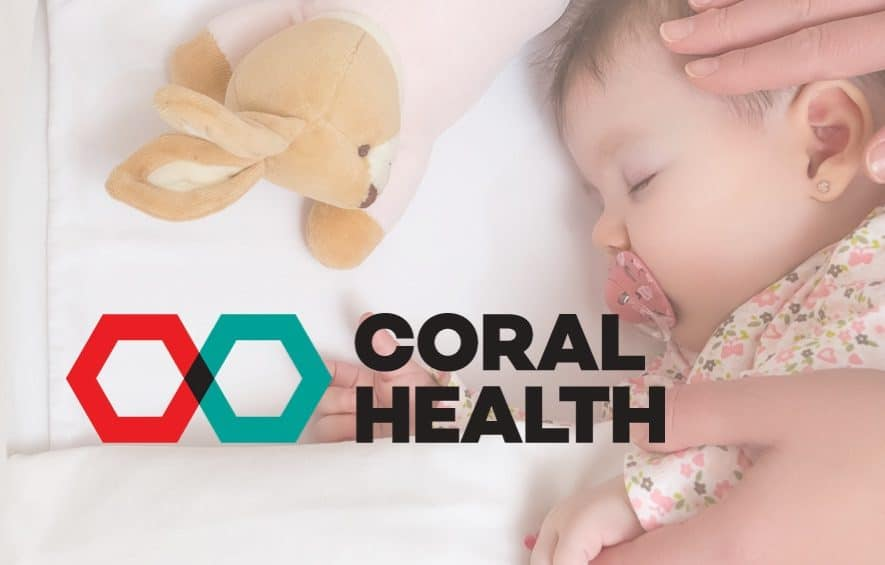 coral health blockchain