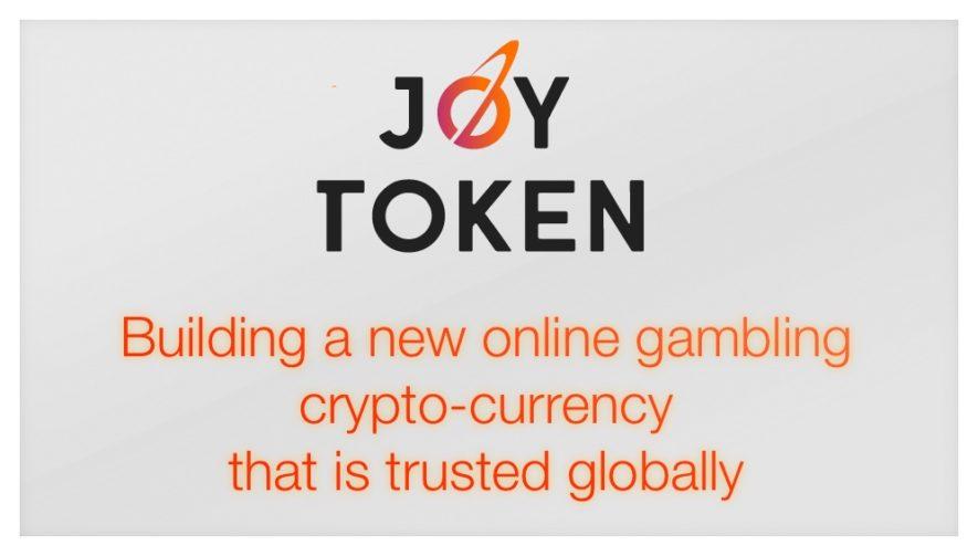 JoyToken ICO online gambling blockchain