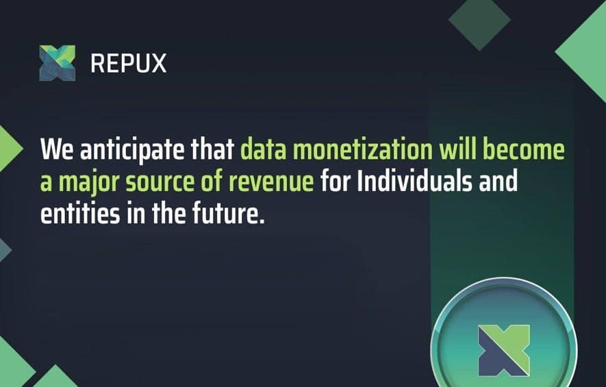 repux ico business data intelligence blockchain