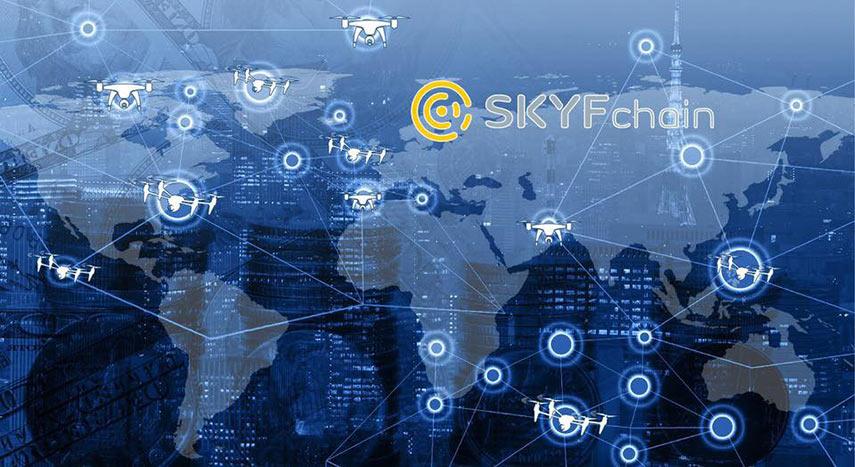 skyfchain blockchain map