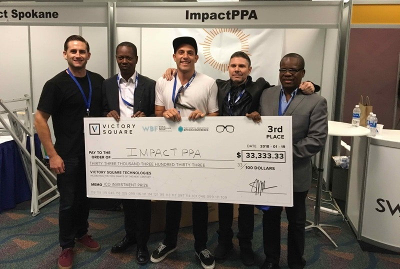 ImpactPPA Wins Top ICO Honors at North American Bitcoin Conference