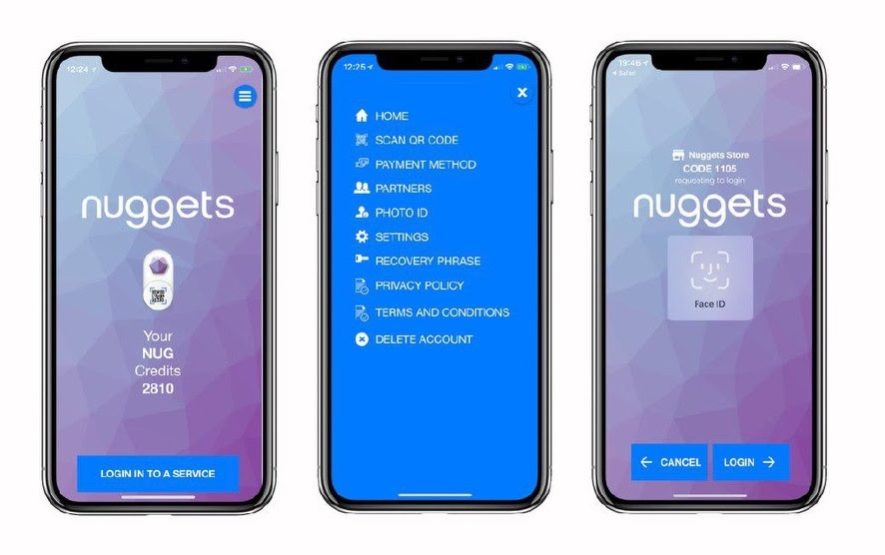 nuggets alpha blockchain
