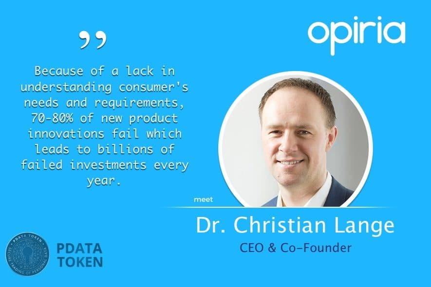opiria data ceo christian lange interview