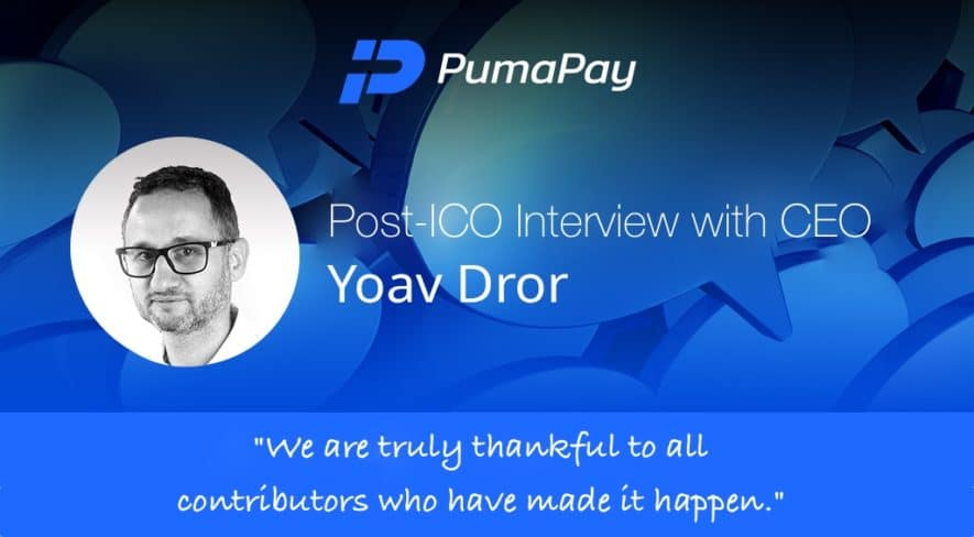 pumapay ceo yoav dror interview