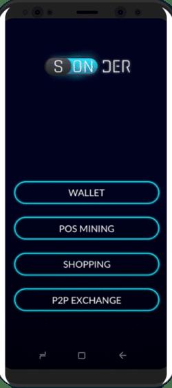 sonder app wallet