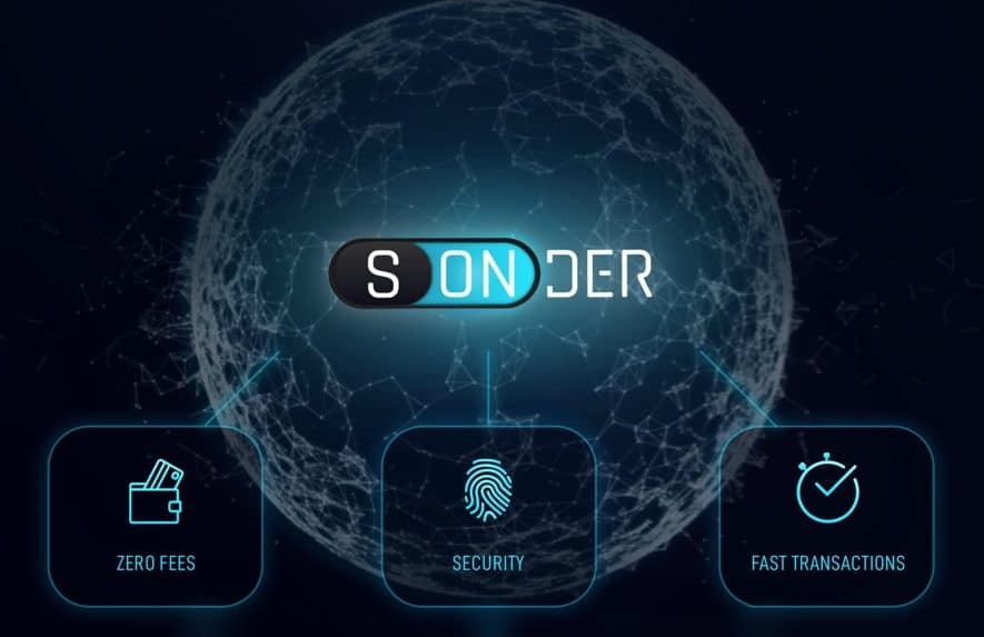 sonder nofee secure crypto transactions