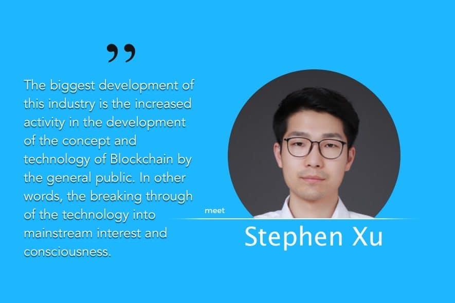 stephen xu Xiaolong exclusive chipin interview
