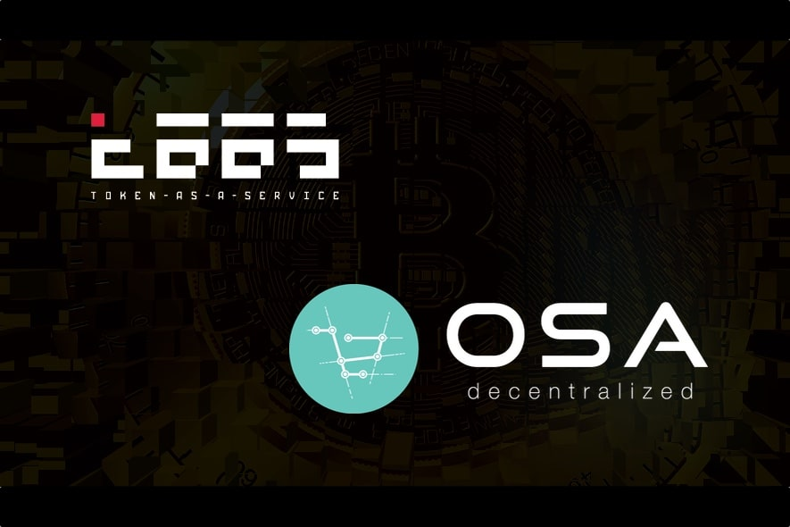 taas osadc blockchain partnership