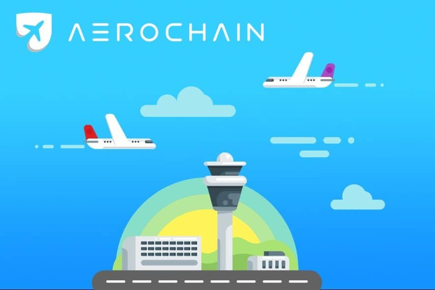 aerochain logisticts supply log blockchain