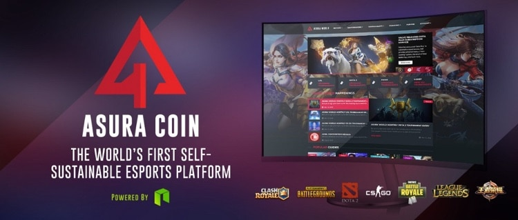 asura coin self sustainable esports