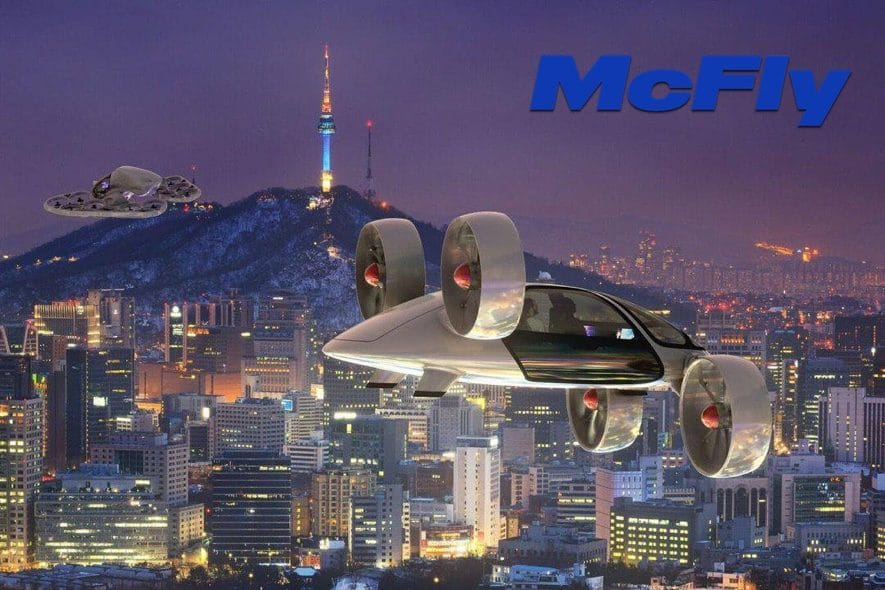 mcfly aero blockchain airspace
