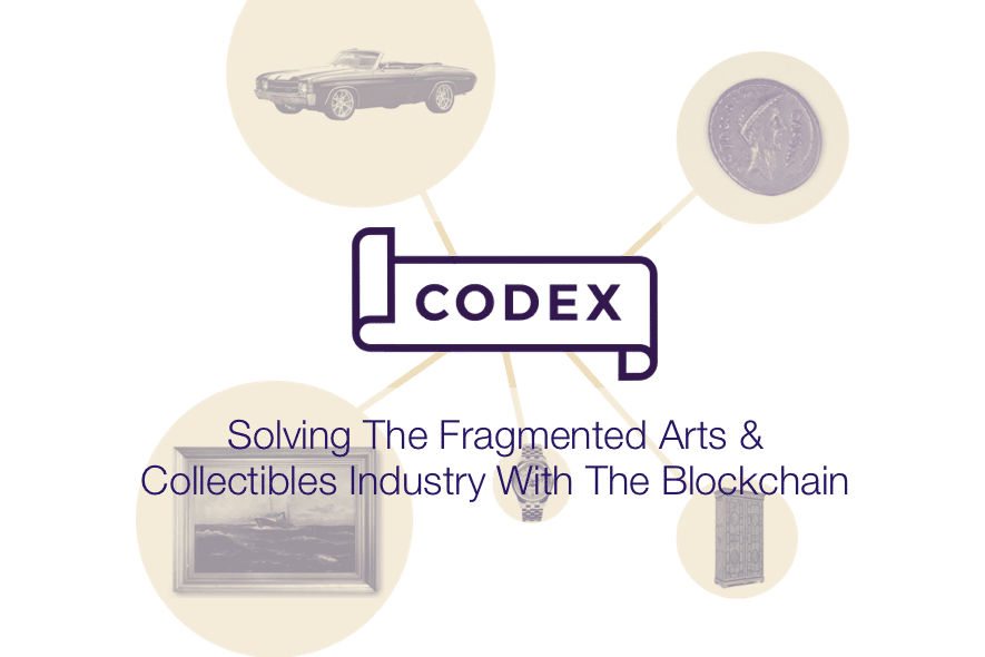 codex protocol arts collectibles blockchain