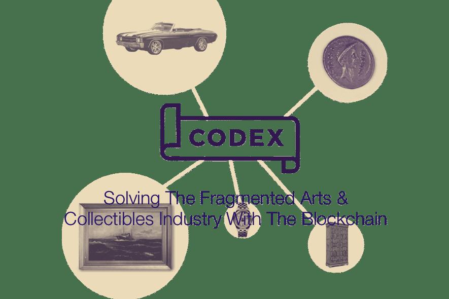 codex protocol arts collectibles blockchain
