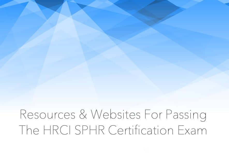hrci sphr certification exam