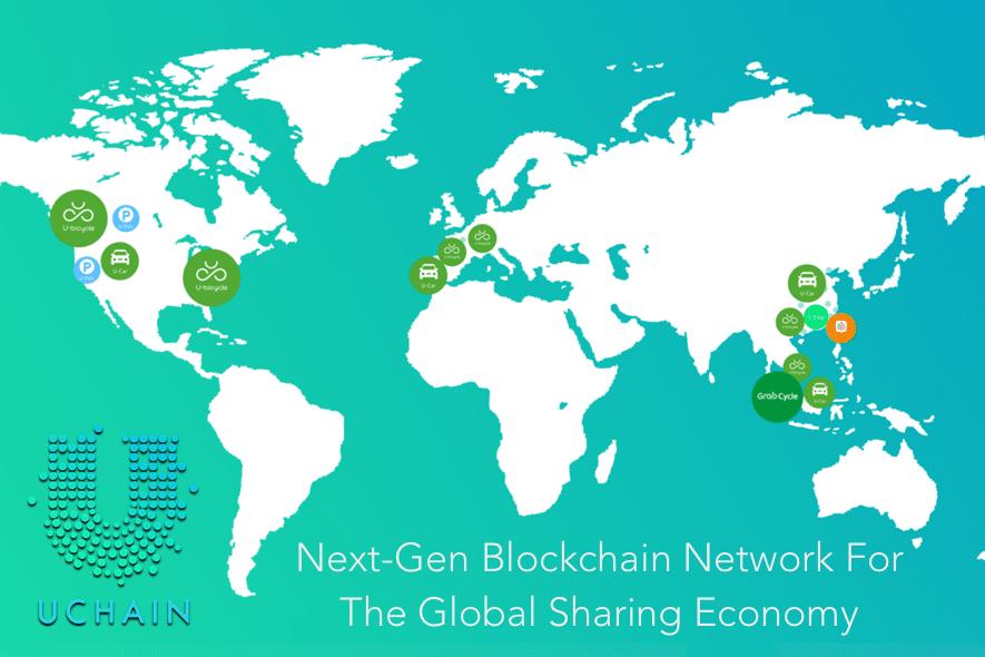 uchain blockchain network sharing economy