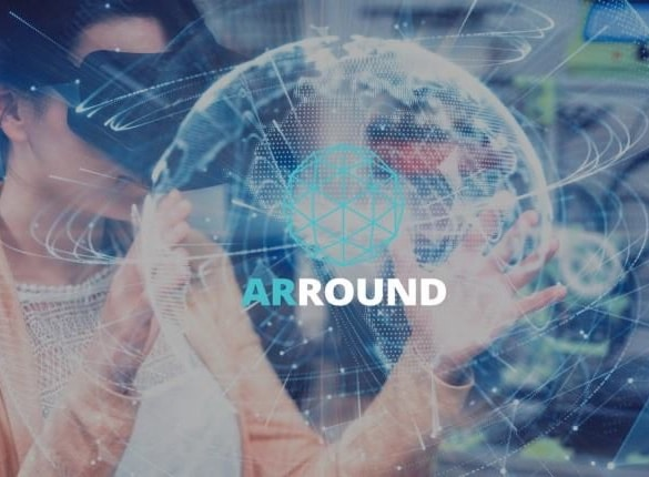 arround blockchain augmented reality