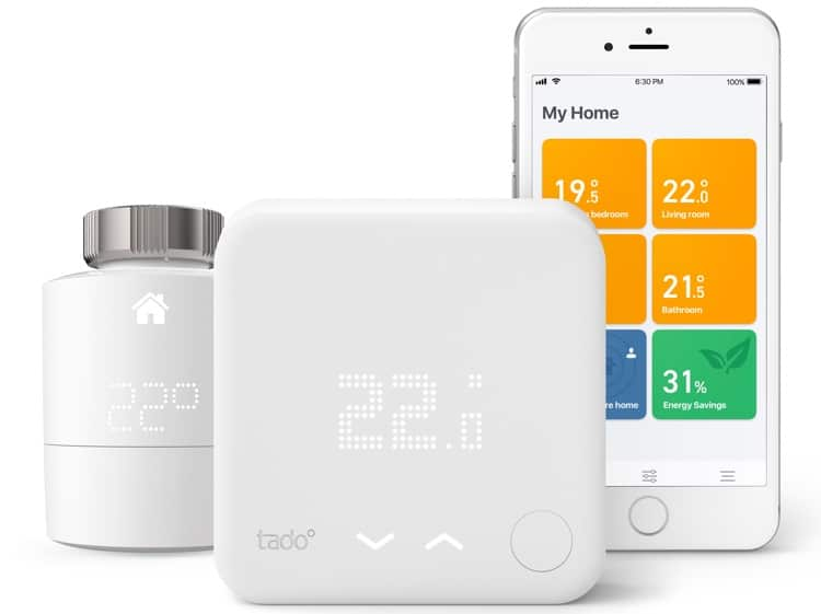 tado Smart Thermostat_Smart Radiator Thermostat and app