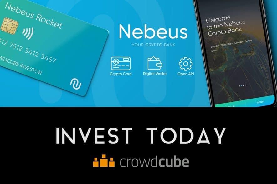 nebeus crowdcube crowdfunding