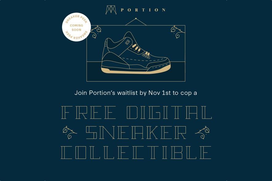 portion digital sneaker