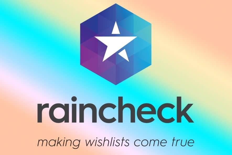 raincheck customer loyalty blockchain
