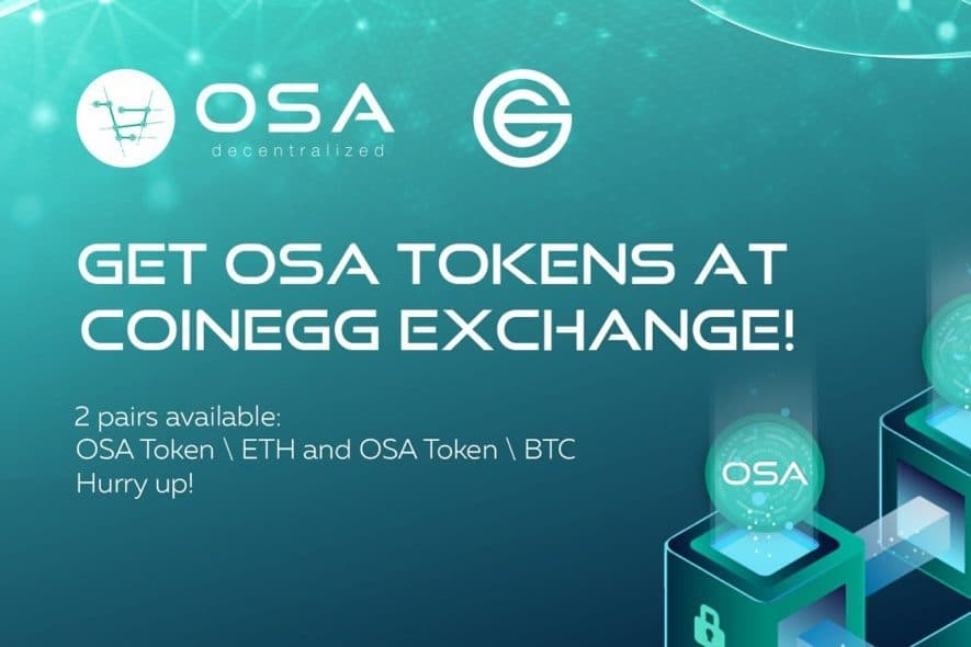 osa token coinegg exchange