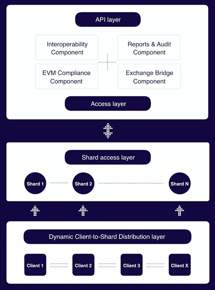 elrond blockchain platform tech