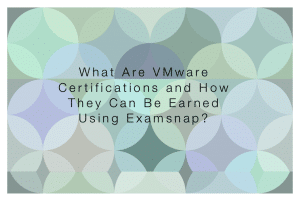 vmware certificate examsnap