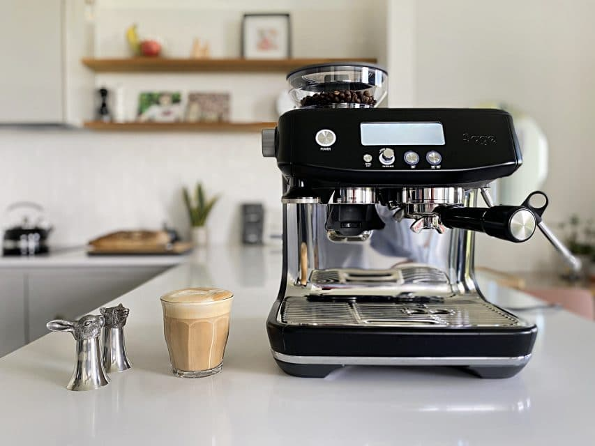 sage the barista pro espresso machine review